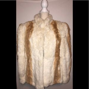 Jackets & Blazers - Rabbit Fur Jacket